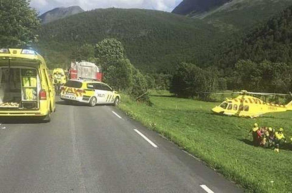ДТП с участием туристического автобуса произошло вечером 30 июля