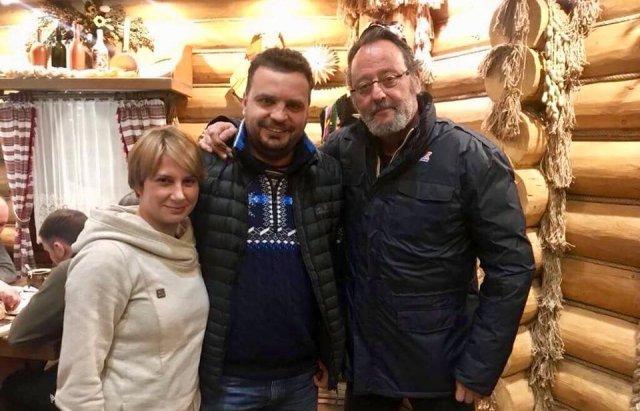 На Закарпатье приехал известный актер Жан Рено: для съемок в украинско-французском фильме