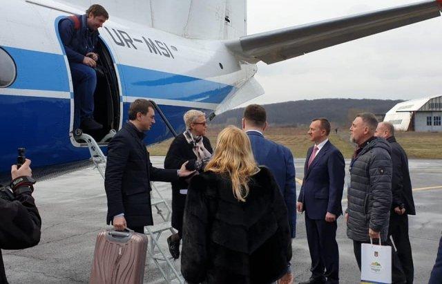 """""""Мотор Сич"""" разорвала контракт с аэропортом в Ужгороде"""