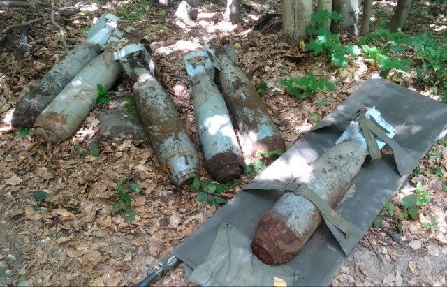 На Закарпатье обычные люди нашли в лесу то, что способно за секунды стереть с лица земли несколько сёл