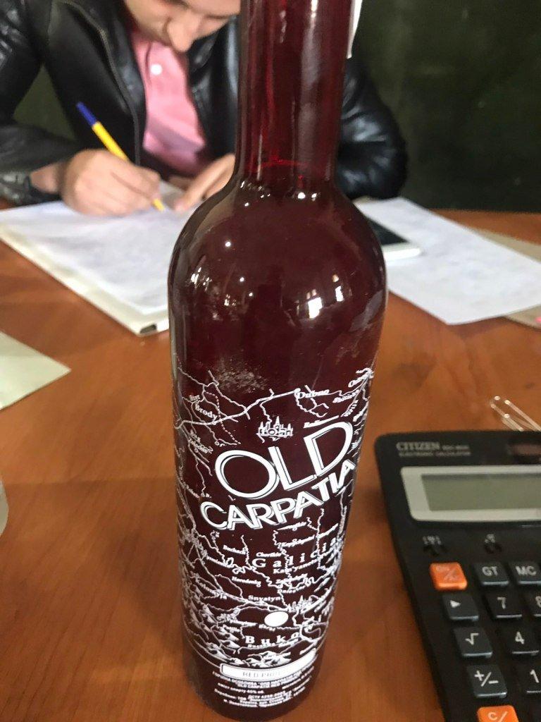 В Закарпатье изъяли большую партию алкоголя неизвестного происхождения