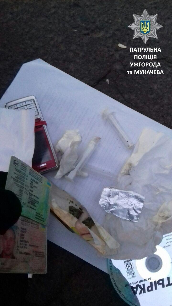 Водитель сообщил патрульным, что регулярно употребляет наркотики