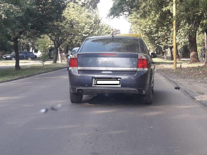 В Закарпатье водитель легковушки наехал на человека