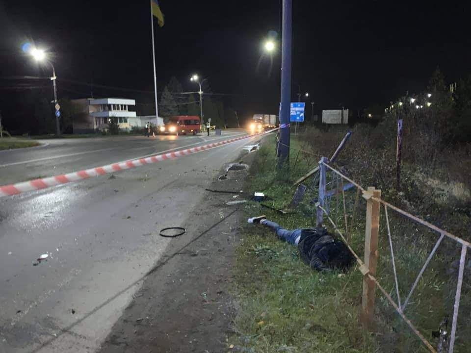 Смертельное ДТП в Мукачево: Женщина вылетела через лобовое стекло