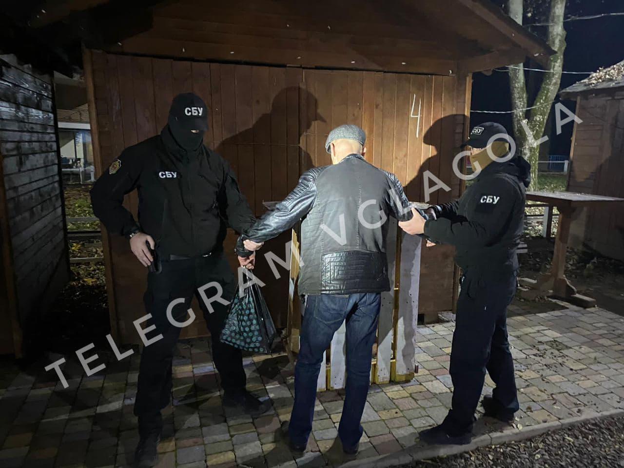 Спецоперация СБУ в Ужгороде: Задержан скупщик голосов за мэра Андріїва