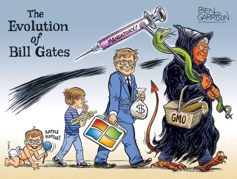 Билл Гейтс причастен к созданию вируса, чтобы заработать на вакцине и сократить тем самым население планеты