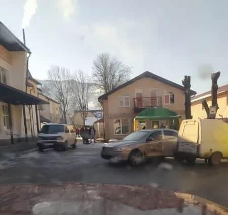 ДТП на Закарпатье: В самом центре города произошло столкновение