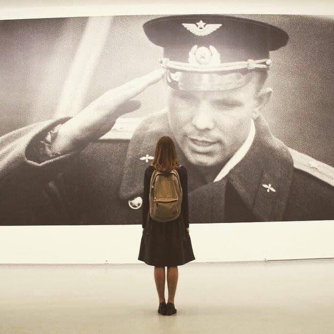 Запрещенный в Украине Гагарин