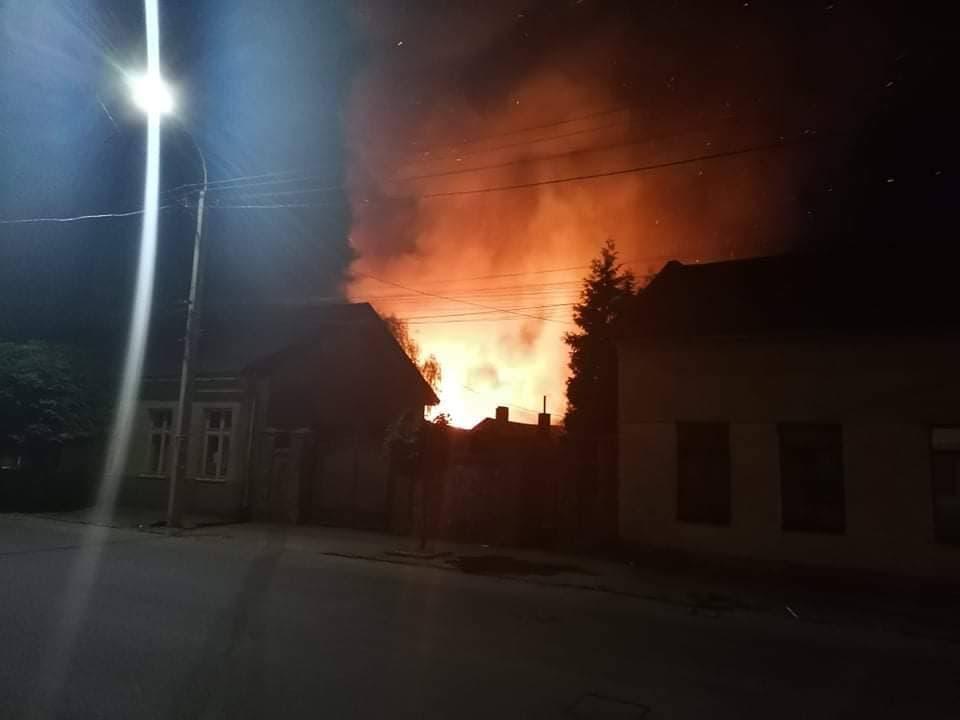 В Ужгороде горелцыганскийтабор на Шахте