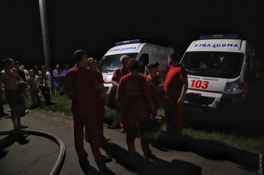 Страшный пожар в Одессе: Горела психиатрическая больница, есть погибшие