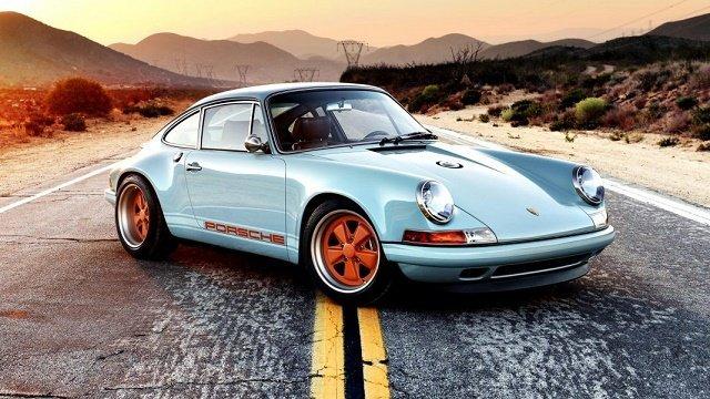 Porsche 911 Singer - Рейтинг суперкаров всех времен и народов по версии Top Gear