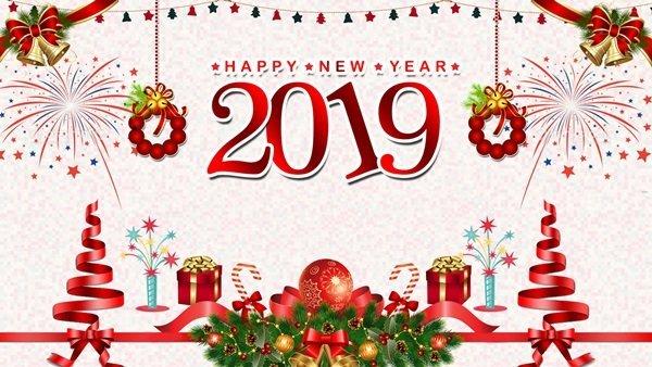 Примите самые искренние и теплые поздравления с Новым 2019 годом!