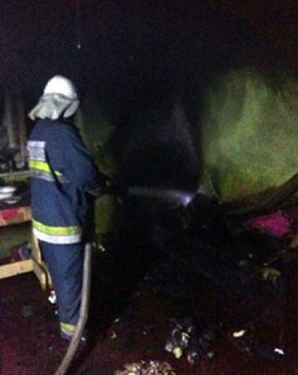 В с. Нижнее Селище Хустского района в пожаре в собственном доме погиб мужчина
