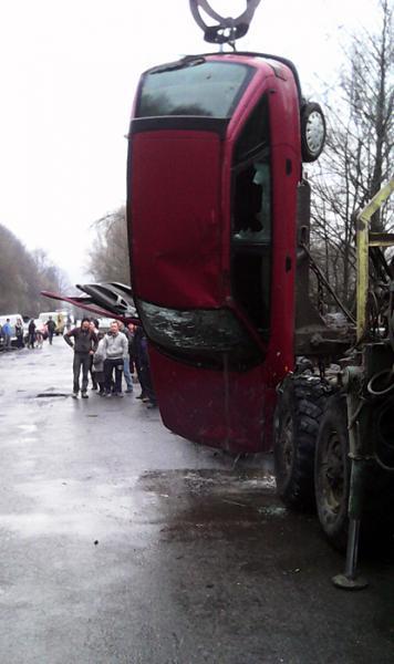 В результате ДТП водитель погиб на месте