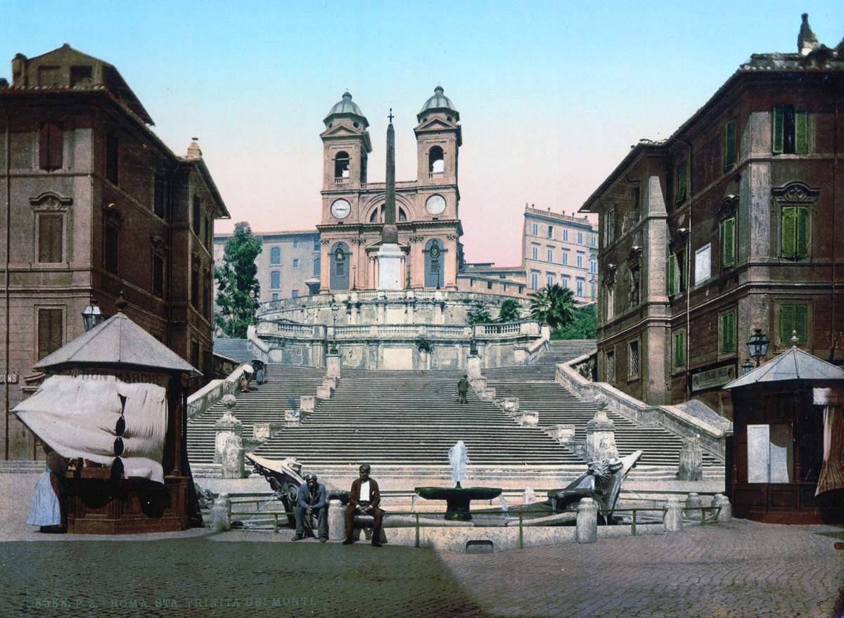 Цветные фотооткрытки из архива Библиотеки Конгресса США
