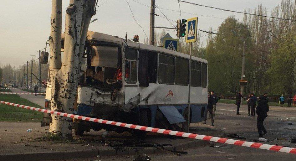 Страшное ДТП в Кривом Роге: 10 погибших и 18 пострадавших
