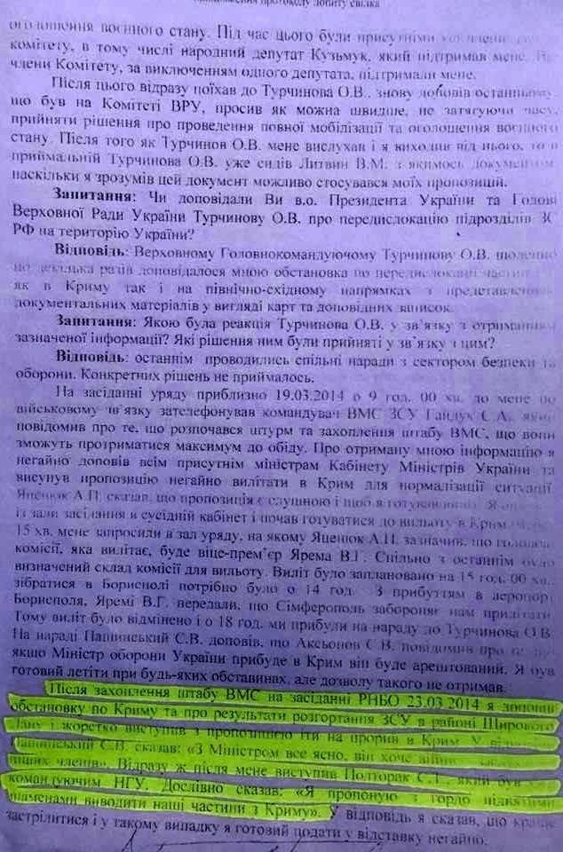 Как украинский режим без боя сдал Путину Крым