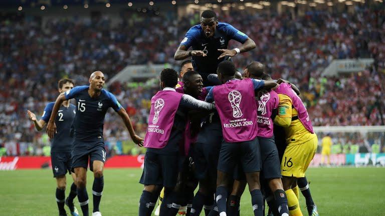 Франция, Хорватия, чемпион мира, футбол, ЧМ-2018