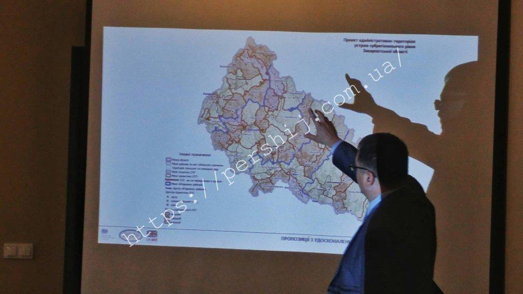Как депутаты планируют делить Закарпатье