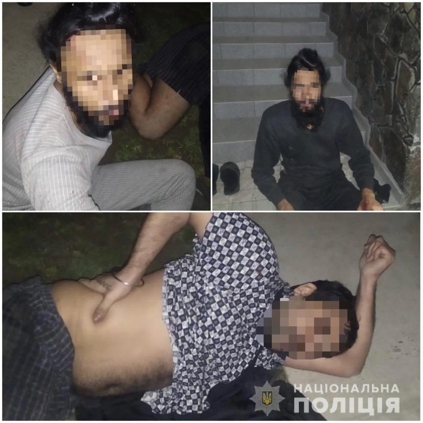 Тотальная жесть в Закарпатье: Во двор женщины ворвались избитые иностранцы, которые умоляли о помощи