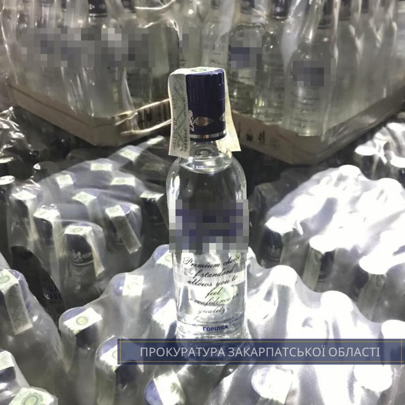 Десятки миллионов: В Ужгороде мошенники по-крупному сбывали фальшивый алкоголь