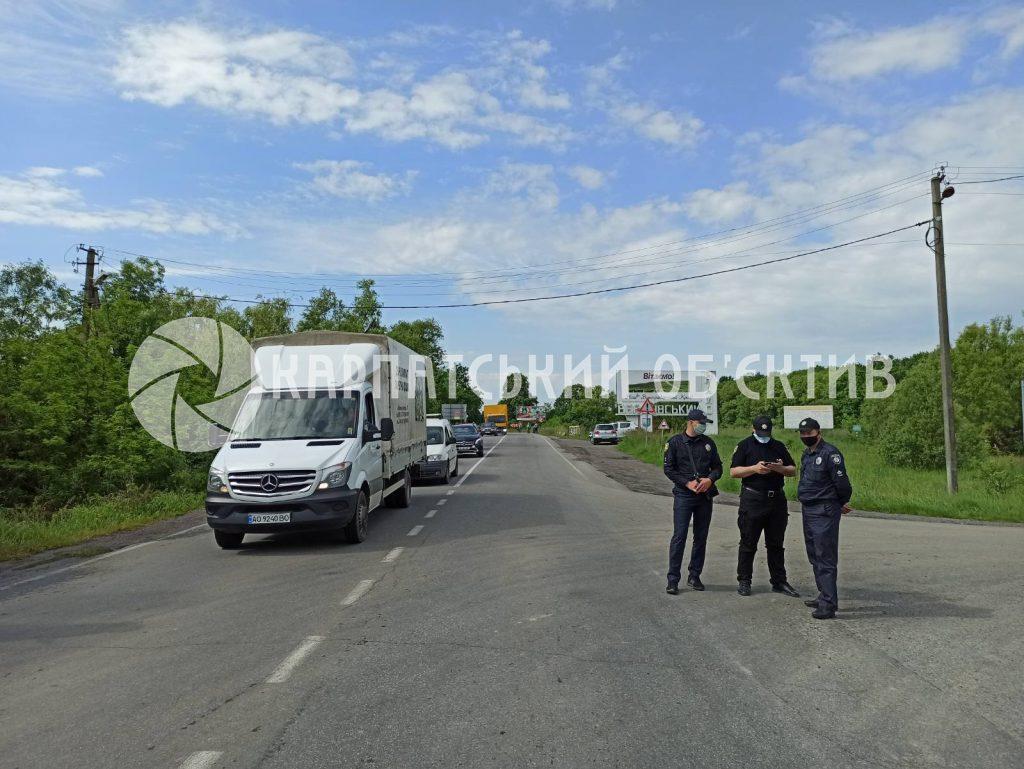 Возле Мукачево заблокирована главная трасса - протестующие требуют приезда губернатора