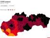 """В Словакии ситуация с ковидом все хуже: районы на границе с Закарпатьем """"почернели"""""""