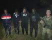 До Венгрии оставалось 25 метров: В районе КПП Косино наряд задержал четырех нелегальных мигрантов из Йемена