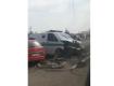 Очевидцы сняли видео с места, где произошла авария с участием нескольких авто
