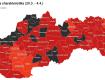 Ковид-автомат: разделение Словакии по районам в зависимости от уровня инфекционной опасности - 29.03.-04.04.2021