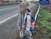 Возле Ужгорода маленькая девочка привлекла к себе внимание прохожих