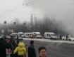 Ужасная авария в Киеве: фура въехала в маршрутку с людьми в результате загорелось несколько авто (ФОТО, ВИДЕО)