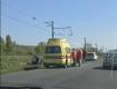 """Возле Ужгорода ДТП: На месте была скорая, один автомобиль """"приземлился"""" на крышу"""