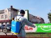 В Закарпатье начали массовую дезинфекцию улиц