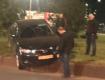В центре Ужгорода авто вылетело на кольцевую развязку