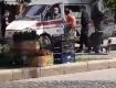 Женщина эксгибиционистка: В центре Мукачево наблюдали тотальный трэш