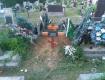 Нацполіція Закарпатської області повідомляє про могильних вандалів