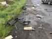 Столкновение двух иномарок в Закарпатье привело к большому пожару - двое пострадавших