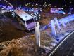 Украинские заробитчане попали в ужасающую аварию в Польше: Перёд автомобиля сплющило как гармошку
