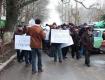 В Херсоне рабочие захватили облсовет