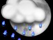 В Ужгороде пасмурно и дождь