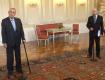 Премьер-министр Чехии оконфузился на Пражском Граде