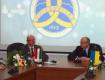Михаэль Байер и Федор Ващук на международной встрече в УжНУ