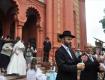 В ужгородской синагоге сыграли настоящую еврейскую свадьбу