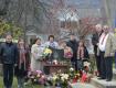 Открывали памятник под скорбную песню Евромайдана «Пливе кача»