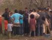 Большинство цыган, которые разбили лагерь в Дарницком районе Киева из Закарпатья