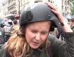 Ударили журналистку которая заявила, что градус ненависти во Франции зашкаливает