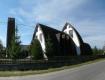 Католический храм Святого Духа, внешне напоминающий индейский вигвам