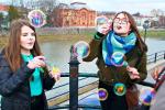 Фестиваль мильних бульбашок просто ошелешив столицю Закарпаття