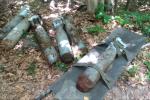 Піротехніки Закарпаття знищили 27 одиниць п'ятдесяти кілограмових авіаційних бомб